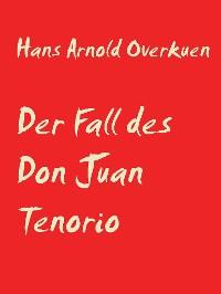 Cover Der Fall des Don Juan Tenorio