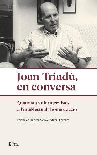 Cover Joan Triadú, en conversa