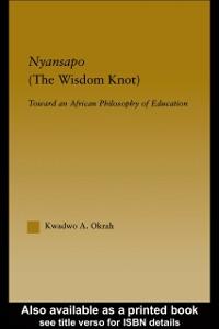 Cover Nyansapo (The Wisdom Knot)