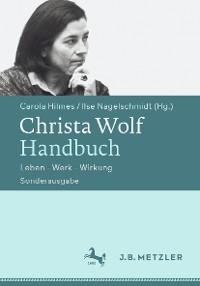 Cover Christa Wolf-Handbuch