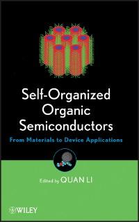 Cover Self-Organized Organic Semiconductors