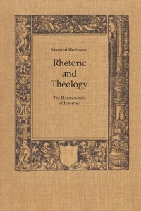 Cover Rhetoric and Theology