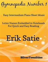 Cover Gymnopedie Number 1 Easy Intermediate Piano Sheet Music