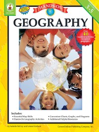 Cover Hands-On Geography, Grades 3 - 5