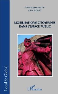 Cover Mobilisations citoyennes dans l'espace public