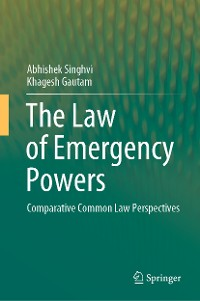 Cover The Law of Emergency Powers