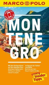 Cover MARCO POLO Reiseführer Montenegro