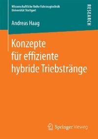 Cover Konzepte für effiziente hybride Triebstränge