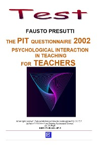 Cover The PIT Questionnarie 2002 for Teachers