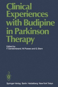 Cover Clinical Experiences with Budipine in Parkinson Therapy