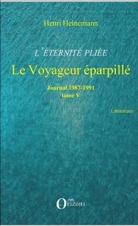 Cover L'eternite pliee (Tome V)