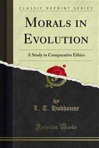 Cover Morals in Evolution