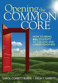 Cover Opening the Common Core