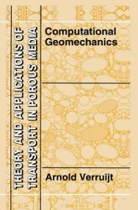 Cover Computational Geomechanics