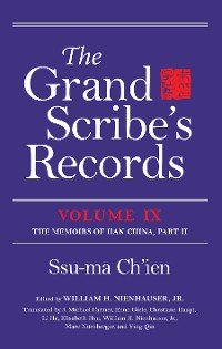 Cover The Grand Scribe's Records, Volume IX