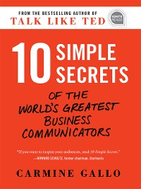 Cover 10 Simple Secrets of the World's Greatest Business Communicators