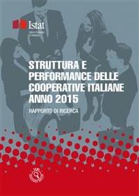 Cover Struttura e performance delle cooperative italiane - Anno 2015