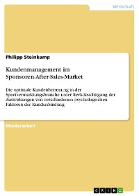 Cover Kundenmanagement im Sponsoren-After-Sales-Market
