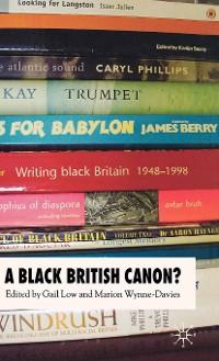 Cover A Black British Canon?