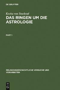 Cover Das Ringen um die Astrologie
