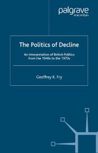 Cover The Politics of Decline