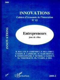 Cover Entrepreneurs, jeux de roles