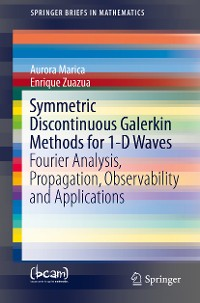 Cover Symmetric Discontinuous Galerkin Methods for 1-D Waves