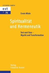 Cover Spiritualität und Hermeneutik