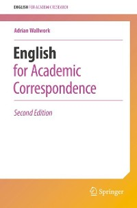Cover English for Academic Correspondence
