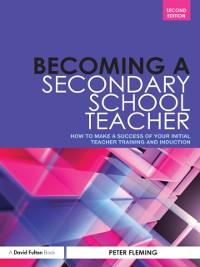 Cover Becoming a Secondary School Teacher