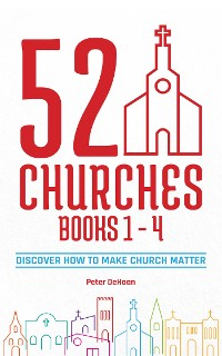 Cover 52 Churches Books 1 - 4