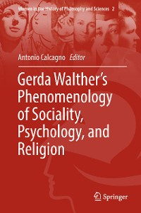 Cover Gerda Walther's Phenomenology of Sociality, Psychology, and Religion