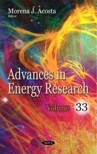 Cover Advances in Energy Research. Volume 33
