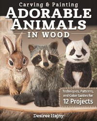 Cover Carving & Painting Adorable Animals in Wood
