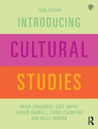 Cover Introducing Cultural Studies