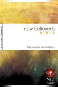 Cover New Believer's Bible NLT
