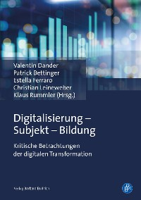 Cover Digitalisierung - Subjekt - Bildung
