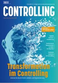 Cover Transformation im Controlling: Umbrüche durch VUCA-Umfeld und Digitalisierung
