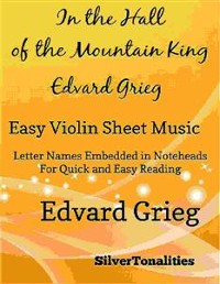 Cover In the Hall of the Mountain King Easy Violin Sheet Music