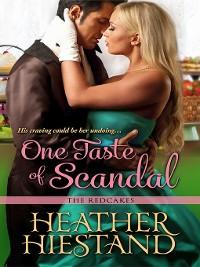 Cover One Taste of Scandal
