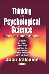 Cover Thinking in Psychological Science