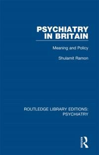 Cover Psychiatry in Britain