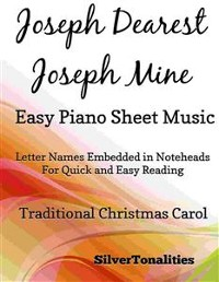 Cover Joseph Dearest Joseph Mine Easy Piano Sheet Music