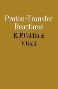Cover Proton-Transfer Reactions