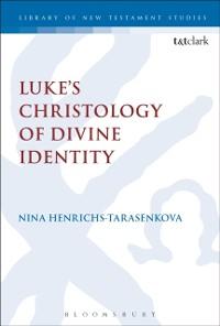 Cover Luke s Christology of Divine Identity