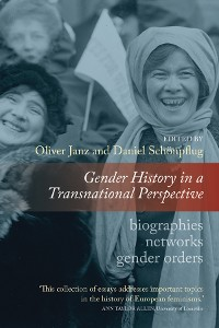 Cover Gender History in a Transnational Perspective