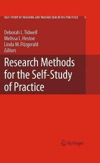 Cover Research Methods for the Self-Study of Practice