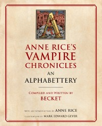 Cover Anne Rice's Vampire Chronicles An Alphabettery