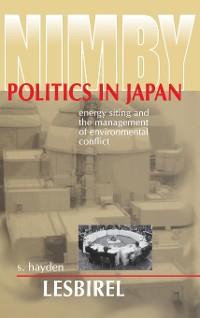 Cover NIMBY Politics in Japan