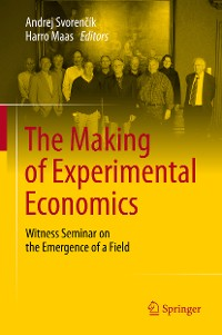 Cover The Making of Experimental Economics